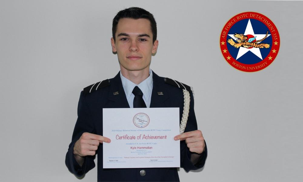 Cadet Kyle Hammalian